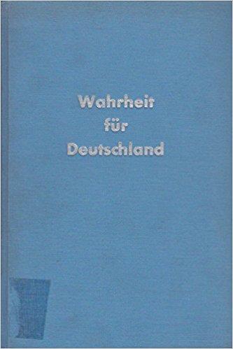 Buch Cover für Wahrheit für Deutschland - Die Schuldfrage des zweiten Weltkrieges by Walendy, Udo