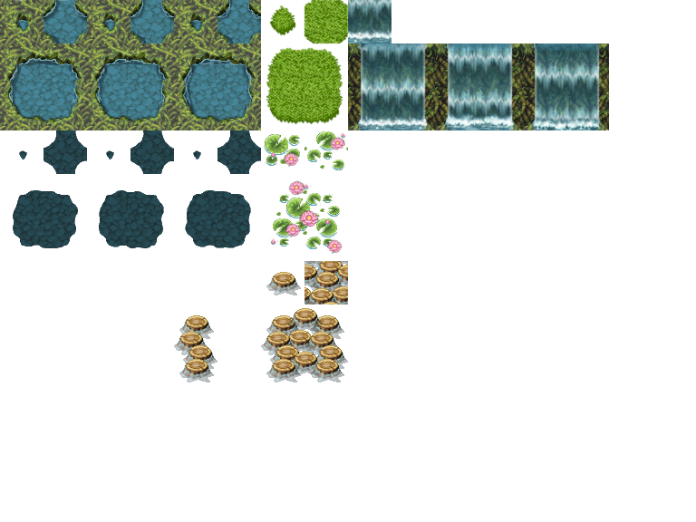 Jungle Cave A1 - RPG TileSet Free Curated Assets for your