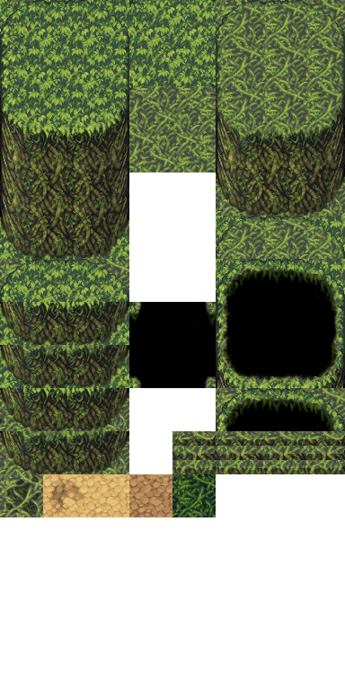Jungle Cave A5 - RPG TileSet Free Curated Assets for your
