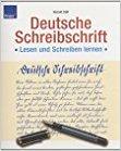 Buch Cover für Deutsche Schreibschrift - Lesen und Schreiben lernen - Übungsbuch by Harald Süß