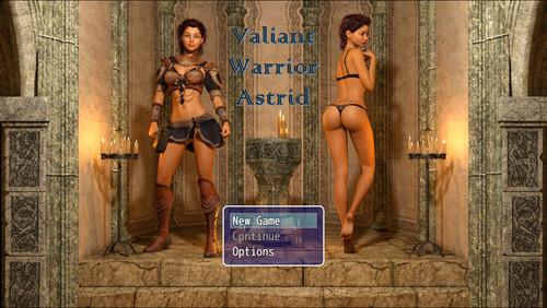 Valiant Warrior Astrid Cover