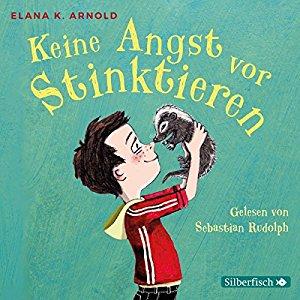 Hörbuch Cover Keine Angst vor Stinktieren Bat und Thor 1 by Elana K. Arnold
