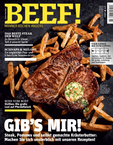 magazine for Beef (Männer kochen anders) Magazin September Oktober No 05 2017