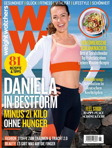 magazine for Weight Watchers (Deutsche Ausgabe) Magazin Oktober November No 06 2017