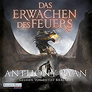 Hörbuch Cover Das Erwachen des Feuers Draconis Memoria 1 by Anthony Ryan