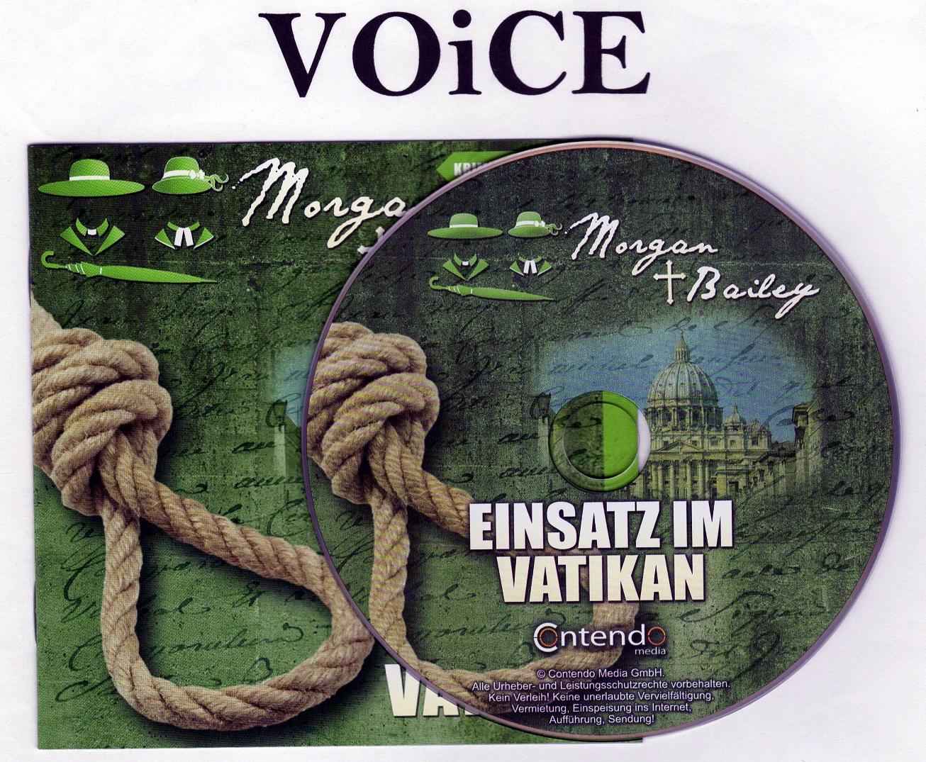 Morgan und Bailey Folge 10 Einsatz im Vatikan