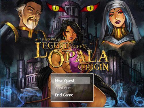 Legend of Queen Opala Cover