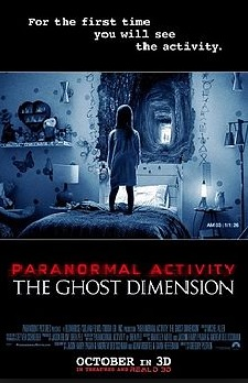Paranormal Acticitiy Ghost Dimension