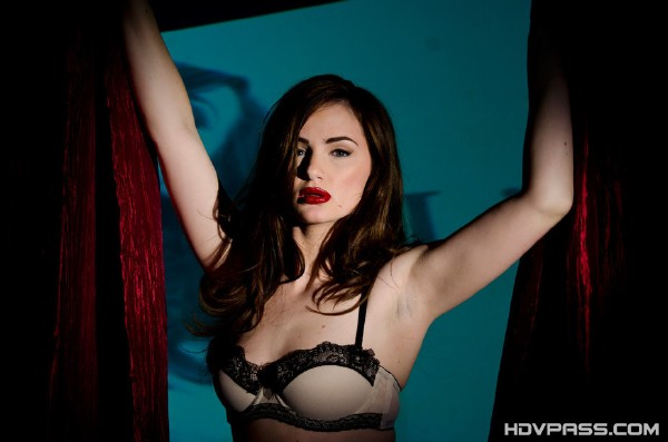 Lily Carter - Pretty Lily Blows Bangs and Swallows! 1080p Cover