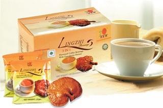 Ganoderma (Reishi, LingZhi) Kaffee für Vitalität & Energie C27g2v88