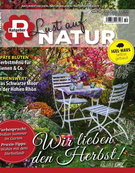 magazine Ratgeber Lust auf Natur - Oktober 2017