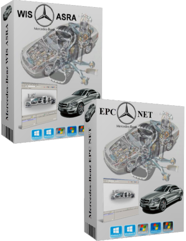 Mercedes-Benz WIS ASRA EPC NET 11-2017 Update