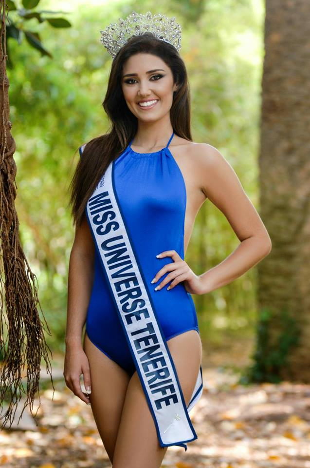 ana mendez rodriguez, miss universe tenerife 2017. Svy3dz3a