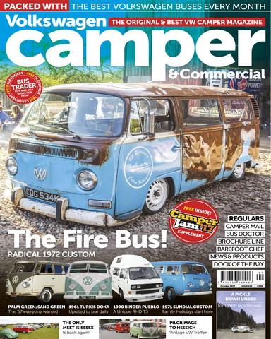Volkswagen Camper und Commercial 10 2017