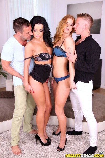 Daphne Klyde, Chrissy Fox, Victor Solo - Girls Having Fun 1080p Cover