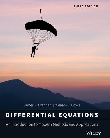 Differential Equations An Introduction to Modern Methods and Applications 3rd edition