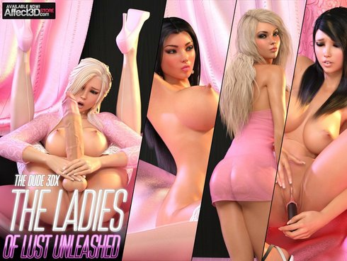 The Ladies Of Lust Unleashed Cover