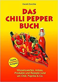 Buch Cover für DAS CHILI PEPPER BUCH 2.0