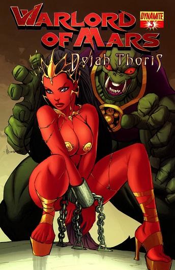 Dejah Thoris - Warlord of Mars 1-4