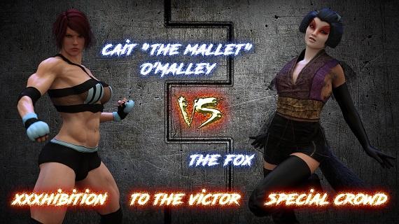 Squarepeg3D - The F.U.T.A. - Season 01, Match 01 - Cait O Malley vs The Fox