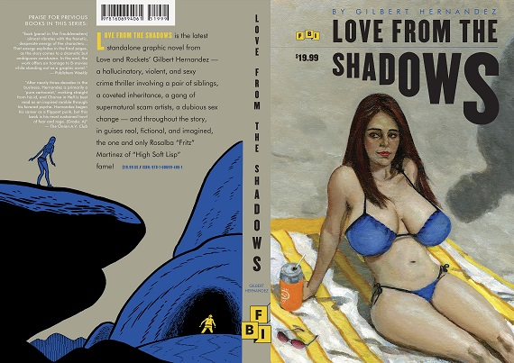 Gilbert Hernandez - Love from the Shadows