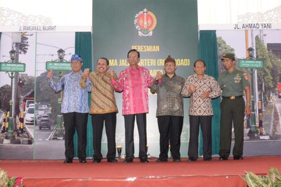 Sekdaprov. Jatim Saksikan Peresmian Nama Jalan Majapahit dan Brawijaya di Jogyakarta