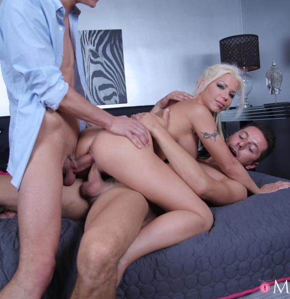 Barbie Sins - UK MILF takes two cocks in one hole (2017/FullHD)