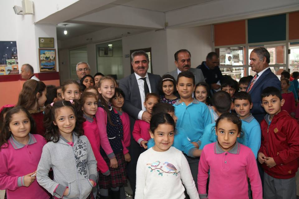Belediye Başkanımız Cafer Özdemir Okul Ziyaretlerine Devam Ediyor