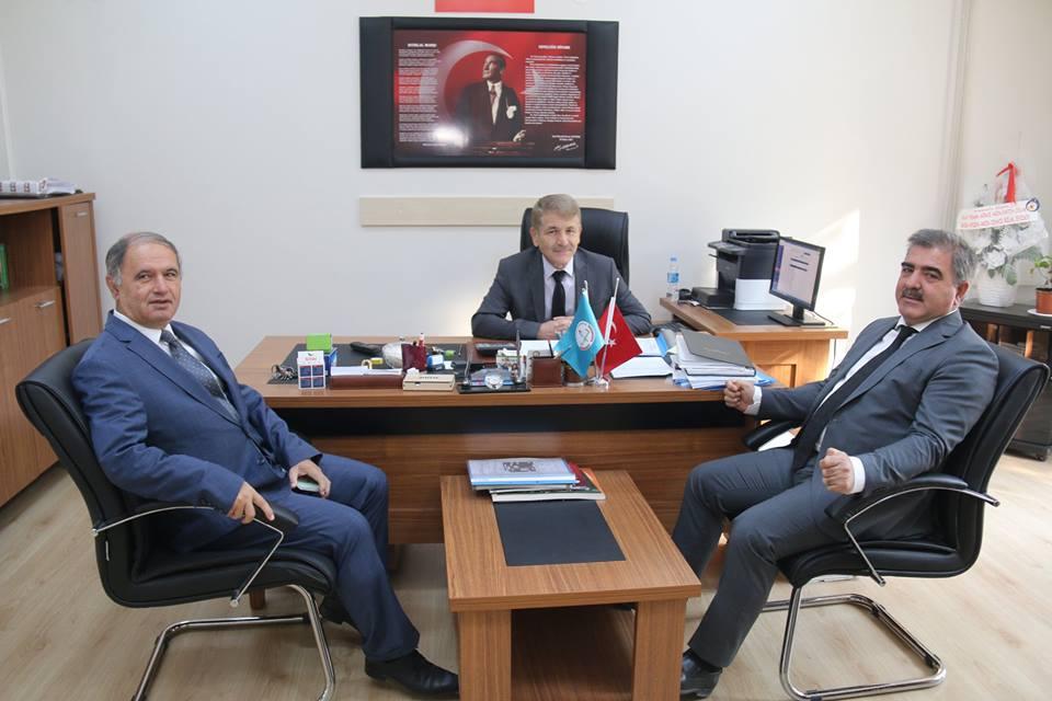 Belediye Başkanımız Cafer Özdemir Okul Ziyaretlerine 2 Okulla Devam Etti