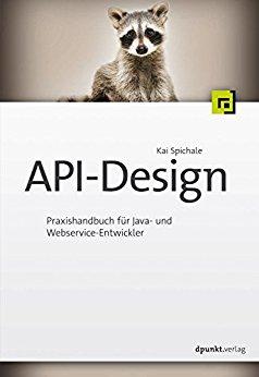 Buch Cover für API-Design: Praxishandbuch für Java- und Webservice-Entwickler