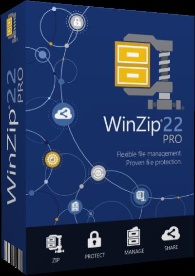 WinZip Pro v22.5 Build 13114 (x32-x64)