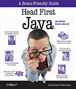 Buch Cover für Head First Java: A Brain-Friendly Guide