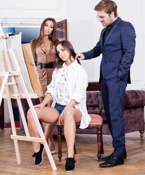 Clea Gaultier, Kristy Black - Kristy Black debuts in an anal trio with Clea Gaultier 720p