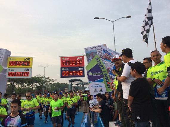 Jawa Pos Fit East Java Marathon Jadi Ajang Promosikan Jatim