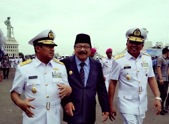 Pakde Karwo Apresiasi Sertijab Pangkotama TNI AL
