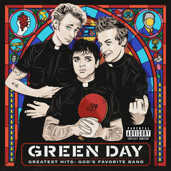 Green Day - God's Favorite Band (2017)