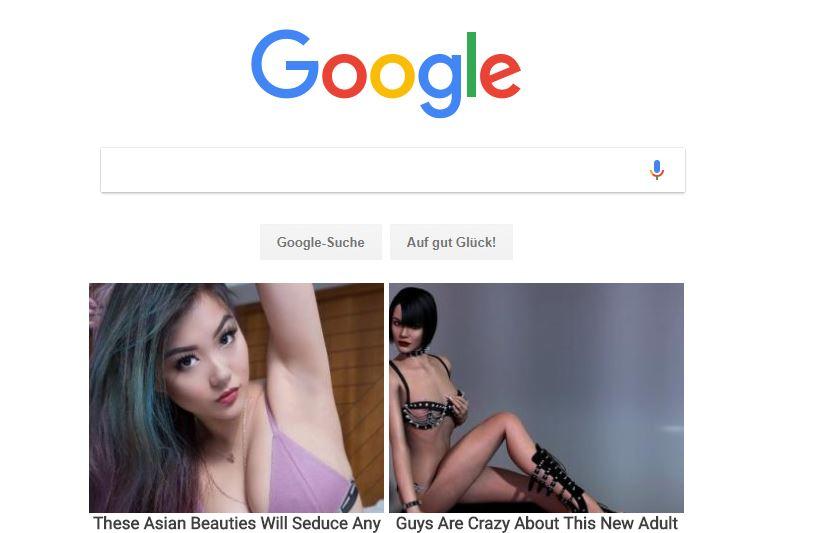 öffne google suche