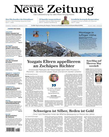: Gelnhaeuser Neue Zeitung 07 Dezember 2017