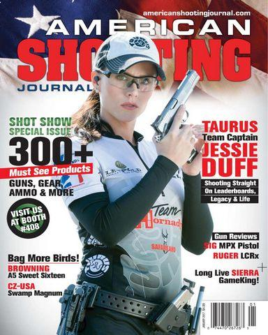 : American Shooting Journal Full Year 2017 Issues Collection