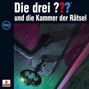 Cover: Die Drei Fragezeichen Folge 190 und die Kammer der Raetsel