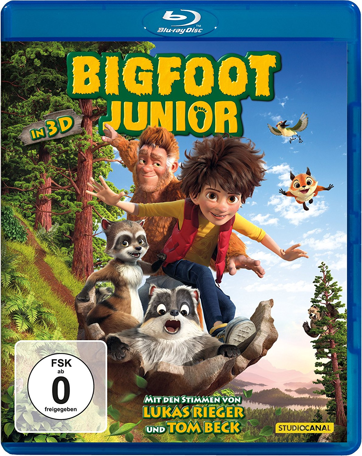 Bigfoot Junior 3D 2017 German 1080p BluRay x264-Checkmate