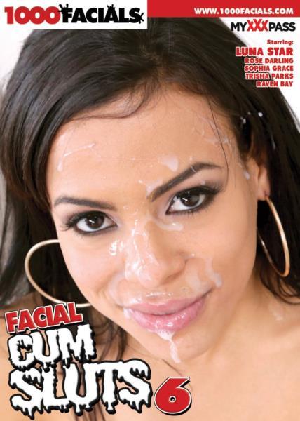 Facial Cum Sluts 6 Cover