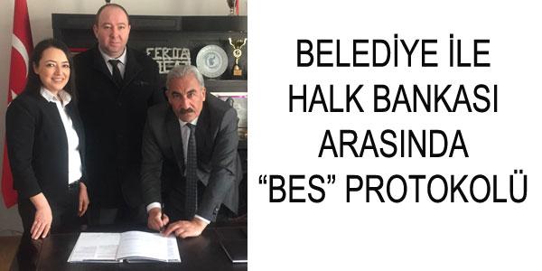 Belediye Personeli için BES protokolü imzalandı