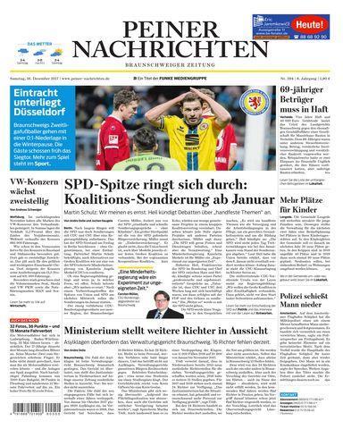 Peiner Nachrichten 16 Dezember 2017