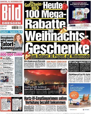 Bild.Zeitung.Dresden.16.Dezember.2017