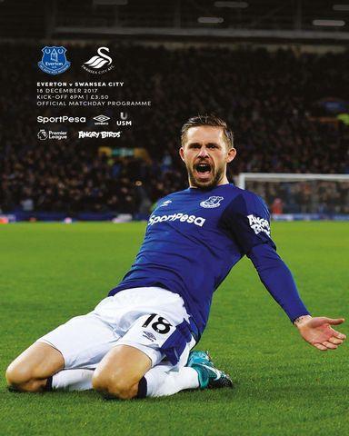 Everton Programmes 18 12 2017