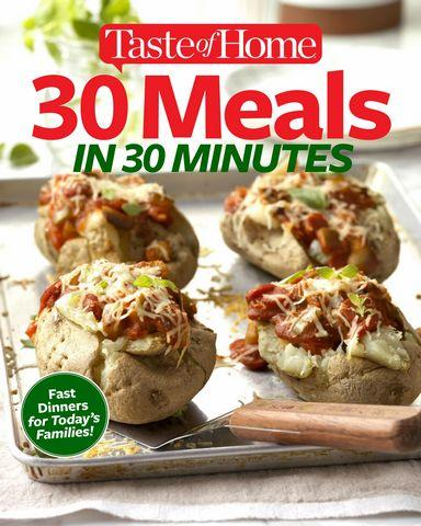 30 Meals in 30 Minutes 12 2017