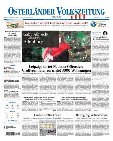 Osterlaender Volkszeitung 16 Dezember 2017