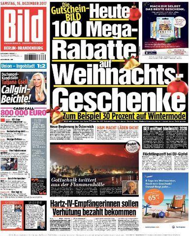 Bild.Zeitung.Berlin.Brandenburg.16.Dezember.2017
