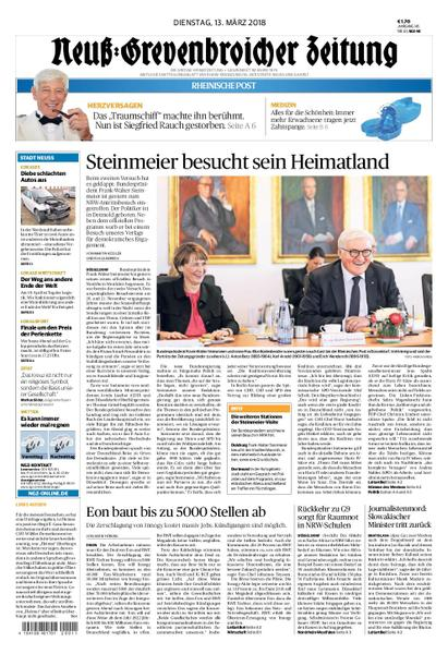 : Neuss Grevenbroicher Zeitung Neuss 13 Maerz 2018